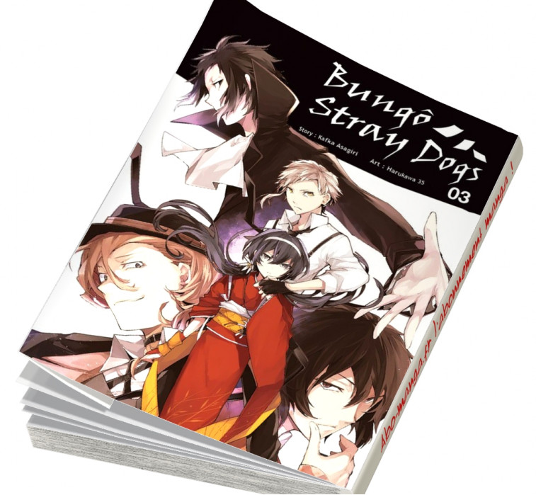 Abonnement Bungô Stray Dogs tome 3
