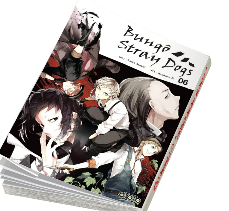 Abonnement Bungô Stray Dogs tome 6