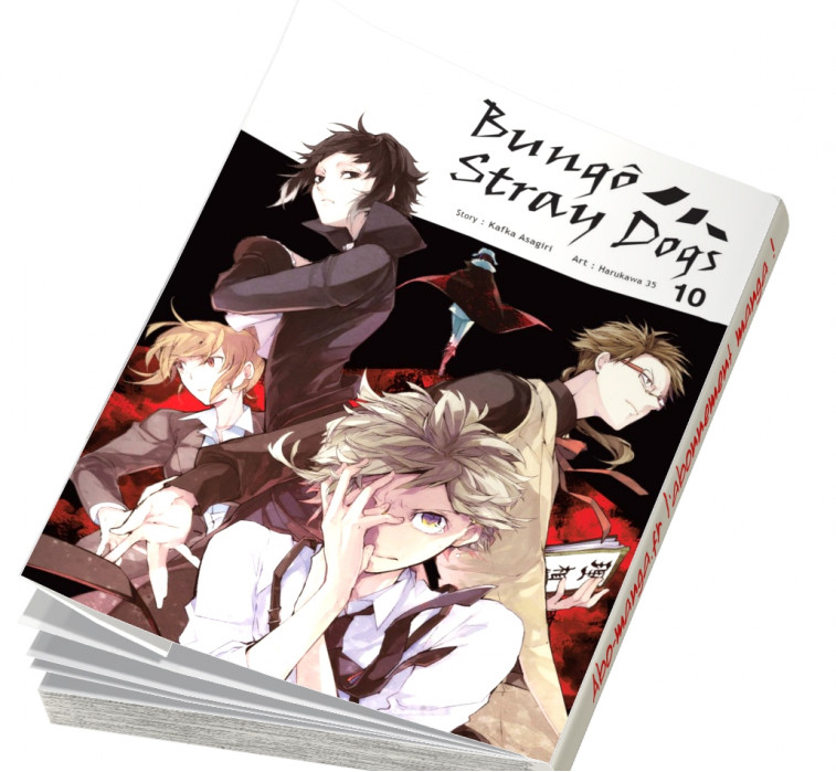 Abonnement Bungô Stray Dogs tome 10