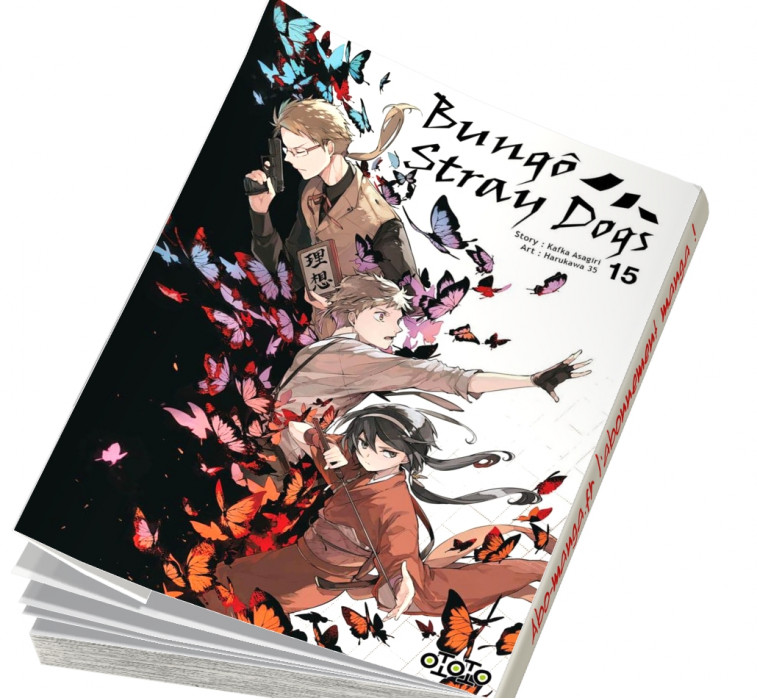 Abonnement Bungô Stray Dogs tome 15