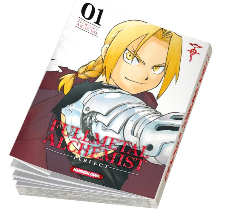 Fullmetal Alchemist Perfect Edition T01