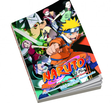 Naruto Shippuden - Anime Comics Naruto Shippuden - La Légende de la Pierre de Guelel