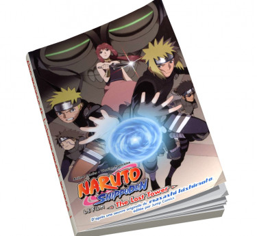 Naruto Shippuden - Anime Comics Naruto Shippuden - The lost Tower