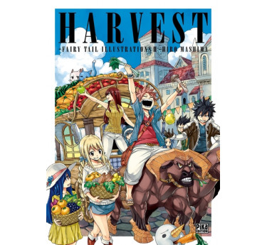 Artbook FAIRY TAIL ILLUSTRATION T02 - HARVEST artbook