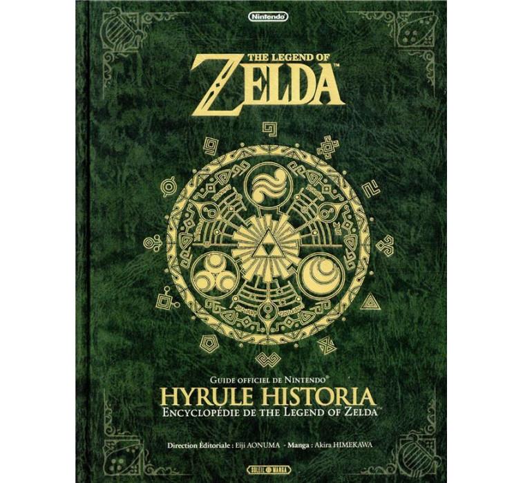 Artbook Zelda Hyrule historia