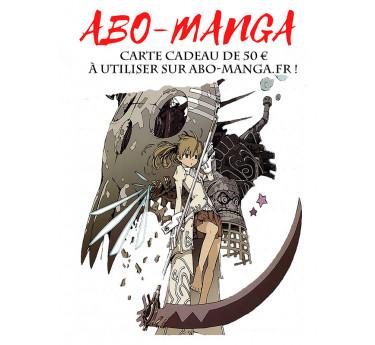 Carte cadeau manga Carte cadeau manga 50€