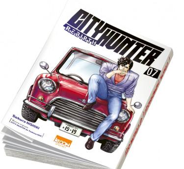 City Hunter Rebirth abonnement manga City Hunter Rebirth