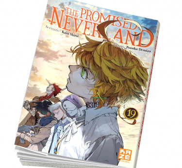 The Promised Neverland S'abonner au manga The Promised Neverland T19