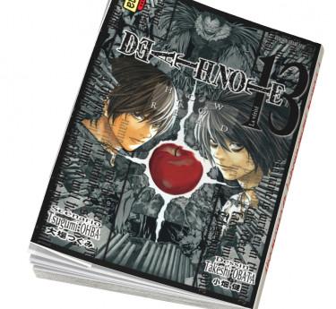 Death note Abonnement manga Death Note T13