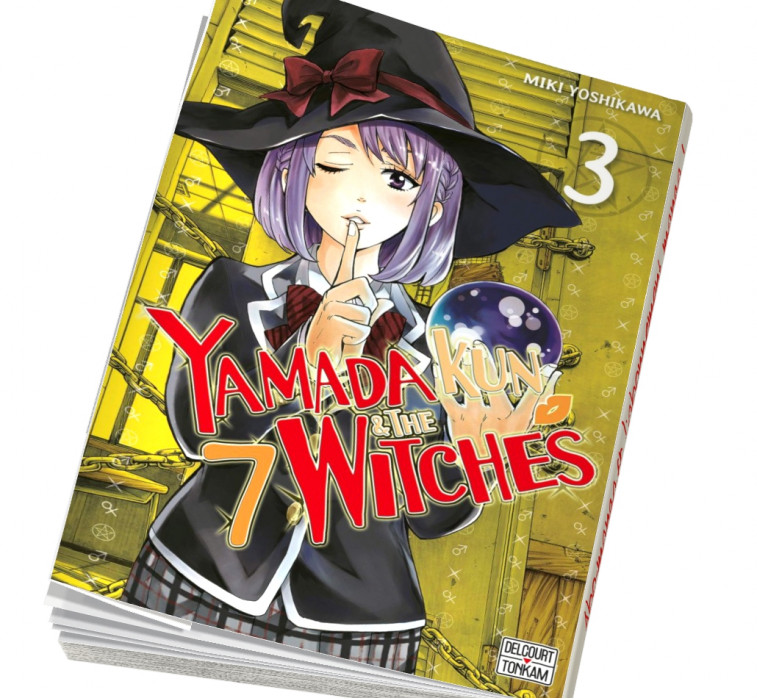 Abonnement Yamada kun and The 7 witches tome 3