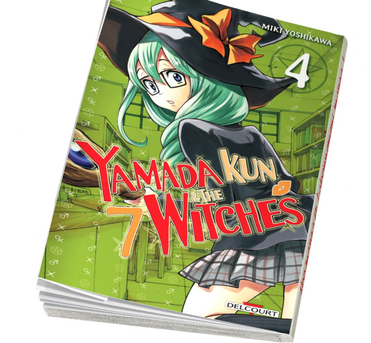 Abonnement Yamada kun and The 7 witches tome 4