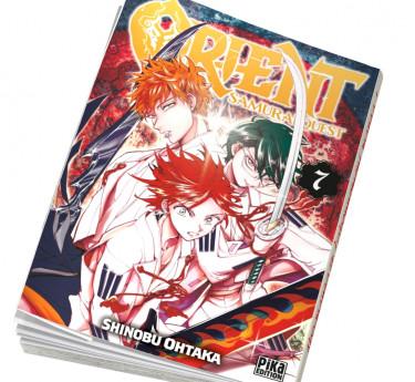 Orient - Samurai Quest Abonnement manga Orient - Samurai Quest T07