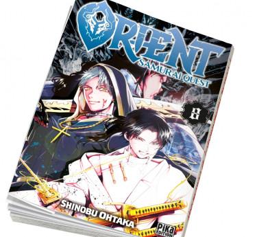 Orient - Samurai Quest Abonnement manga Orient - Samurai Quest T08