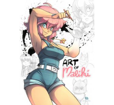 Accueil MALIKI ART OF - Artbook Maliki
