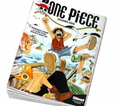 One Piece Abonnement manga One piece Tome 1 édition originale