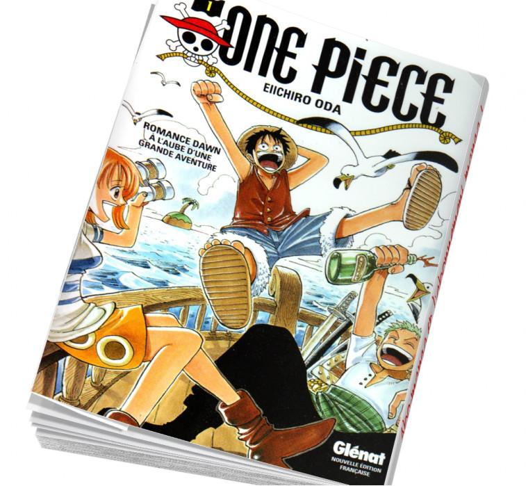 Abonnement manga One piece Tome 1 édition originale
