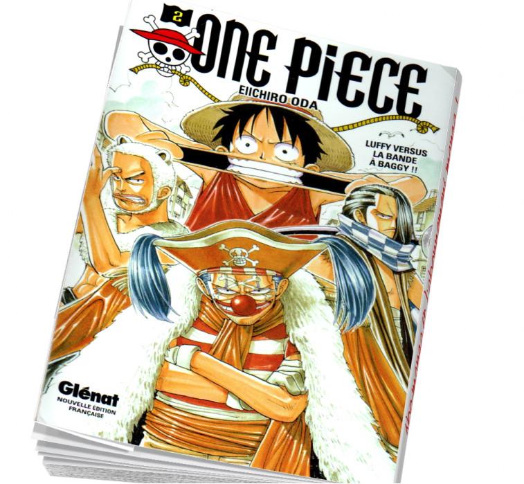 Abonnement manga One piece Tome 2