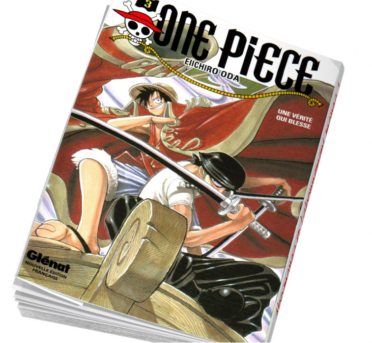 Abonnement manga One piece T03