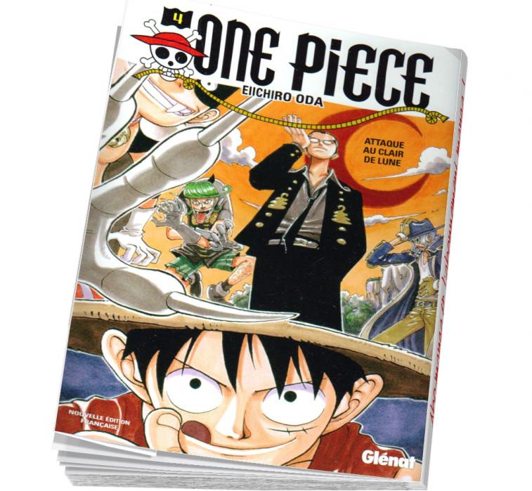One piece tome 4 en abonnement manga