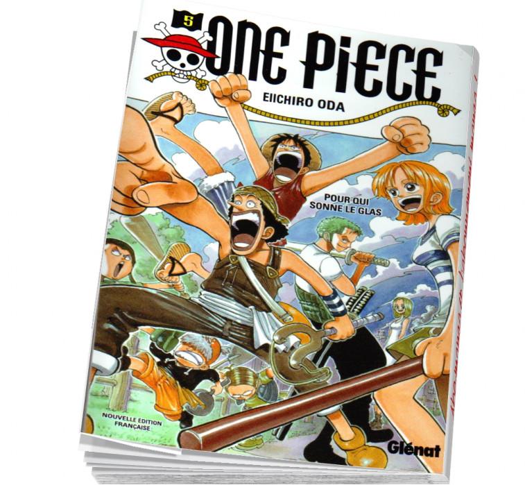 One piece tome 5 abonnez-vous au manga !