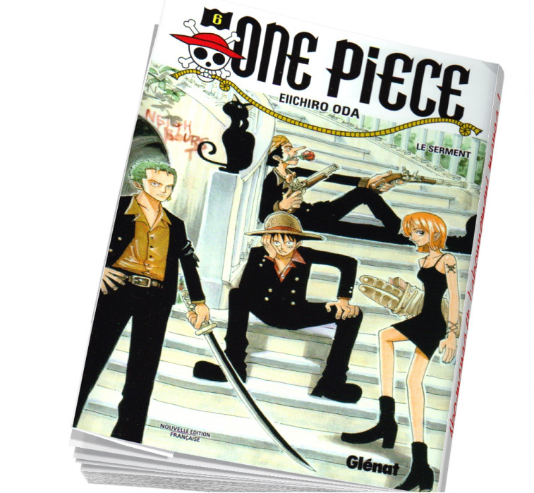 One piece tome 6 en abonnement manga