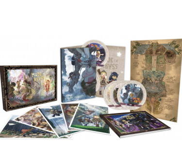 Goldorak - Mazinger Made in Abyss Blu-ray + DVD - Edition collector limitée intégrale