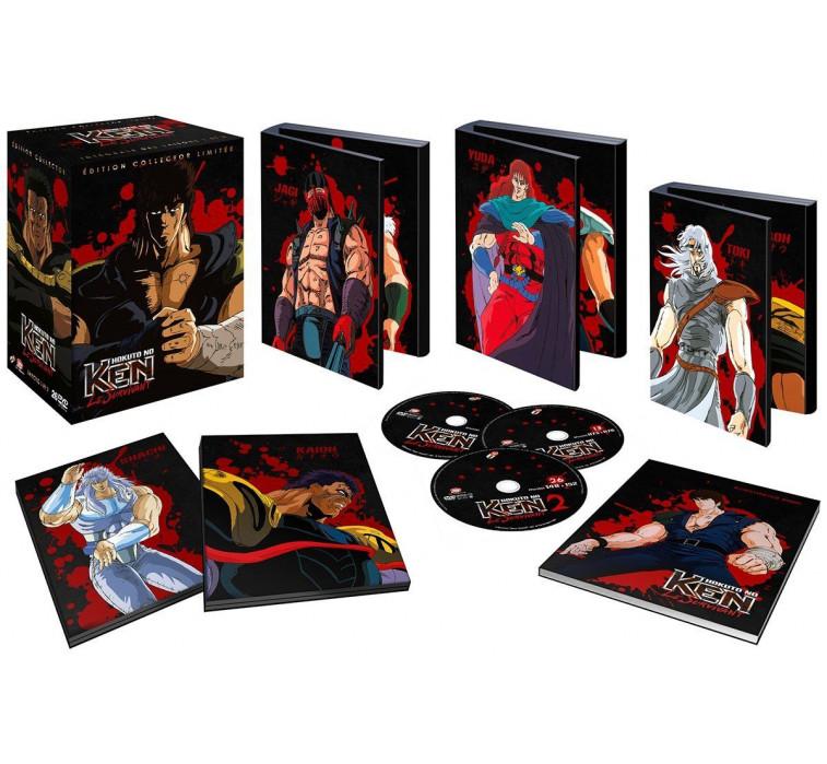 Ken le Survivant - Saison 1 et 2 - Coffret DVD Collector + Artbook - Non censuré