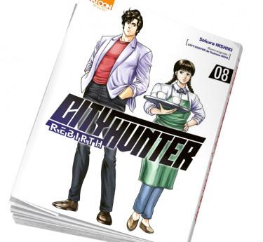 City Hunter Rebirth Abonnement manga City Hunter Rebirth T08