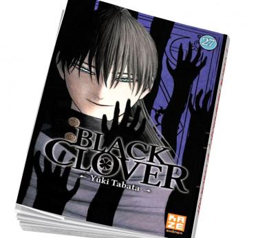 Black Clover Abonnement manga Black Clover T27