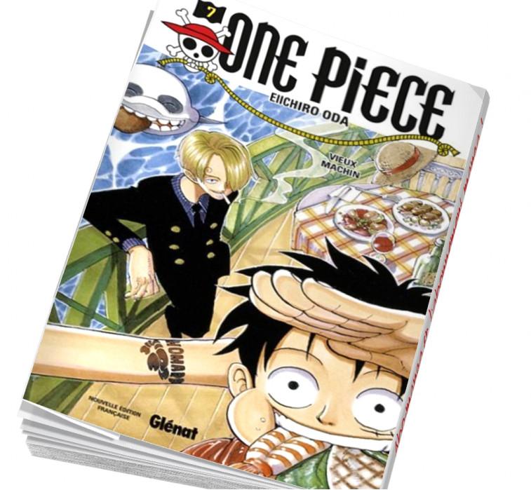Abonnement manga One piece 07