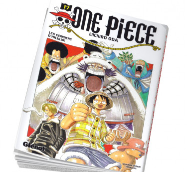 One Piece Abonnement manga One piece 17