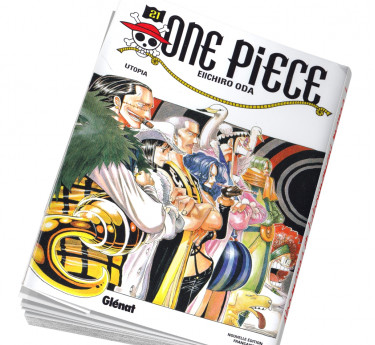 One Piece Abonnement manga One Piece 21