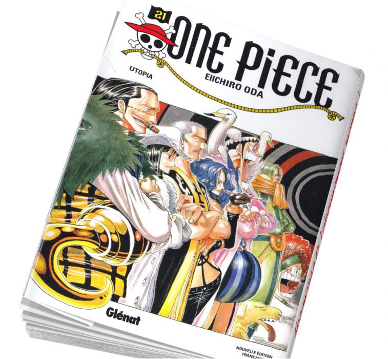 Abonnement manga One Piece 21