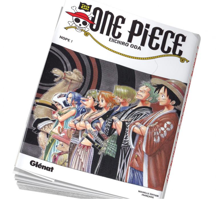 Abonnement manga One Piece 22