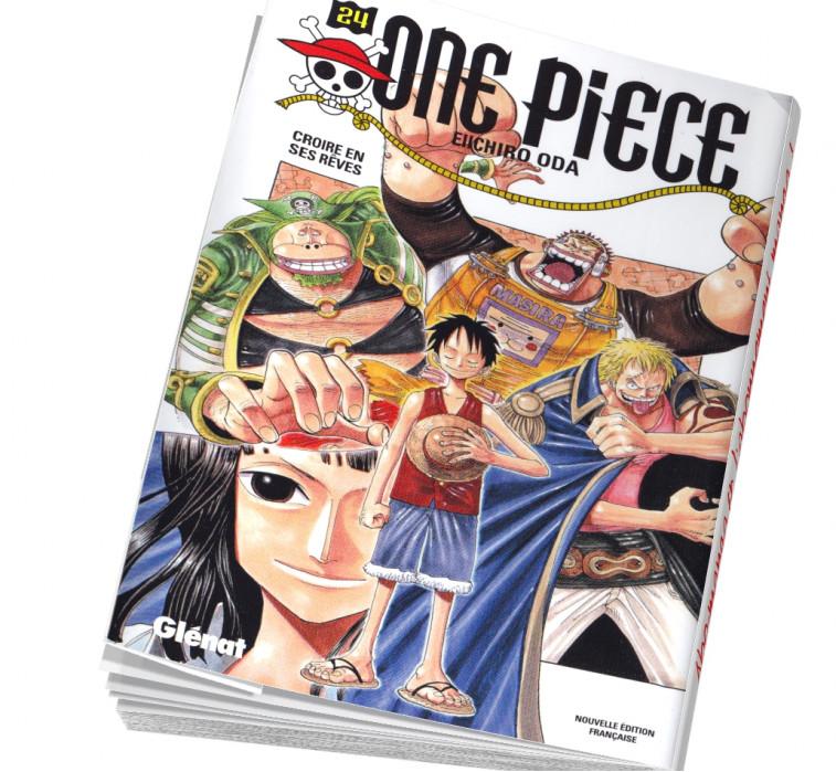 Abonnement manga One Piece 24