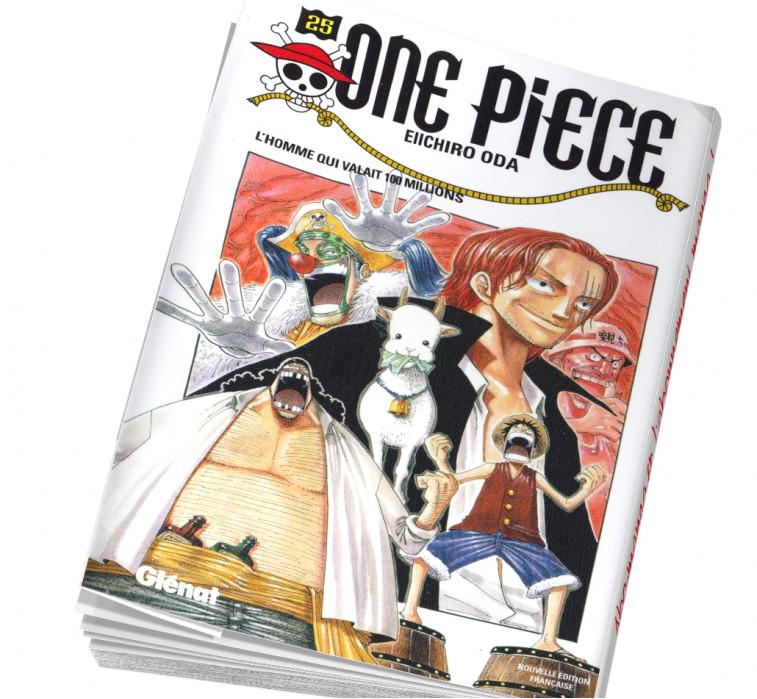 Abonnement manga One Piece 25