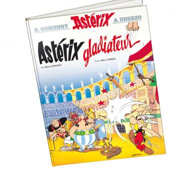 Astérix Astérix tome 4 - Astérix gladiateur