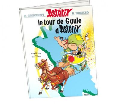 Astérix Astérix tome 5 Le tour de Gaule