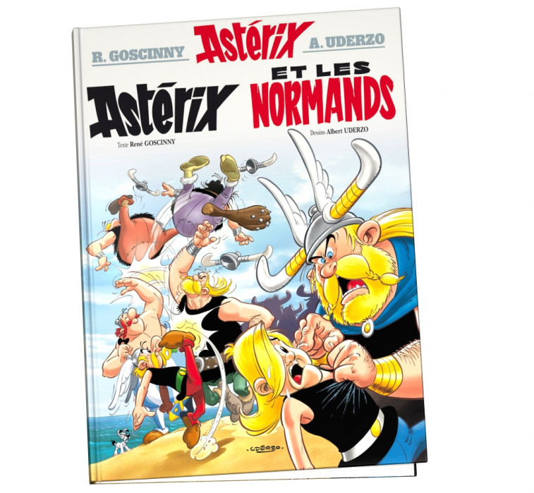 Astérix tome 9 - Astérix et les normands