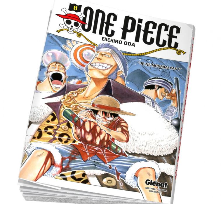 Abonnement manga One piece 08