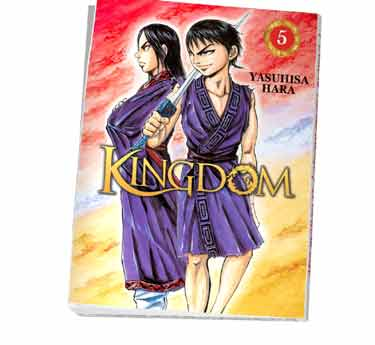 Kingdom Abonnement manga Kingdom tome 5