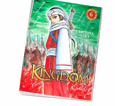 Kingdom Abonnement manga Kingdom tome