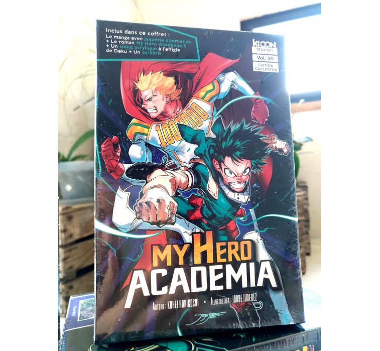 My Hero Academia Tome 30 Collector !