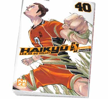 Haikyu !! - Les As du volley Haikyu !! - Les As du volley Tome 40