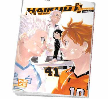 Haikyu !! - Les As du volley Haikyu !! - Les As du volley Tome 41