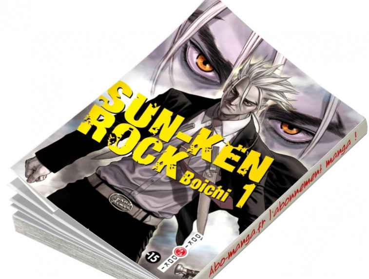 Abonnement Sun-Ken Rock tome 1