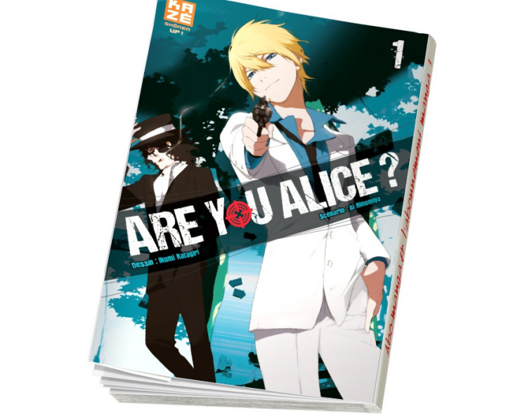 Abonnement Are You Alice tome 1
