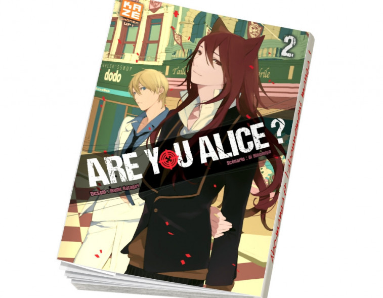 Abonnement Are You Alice tome 2