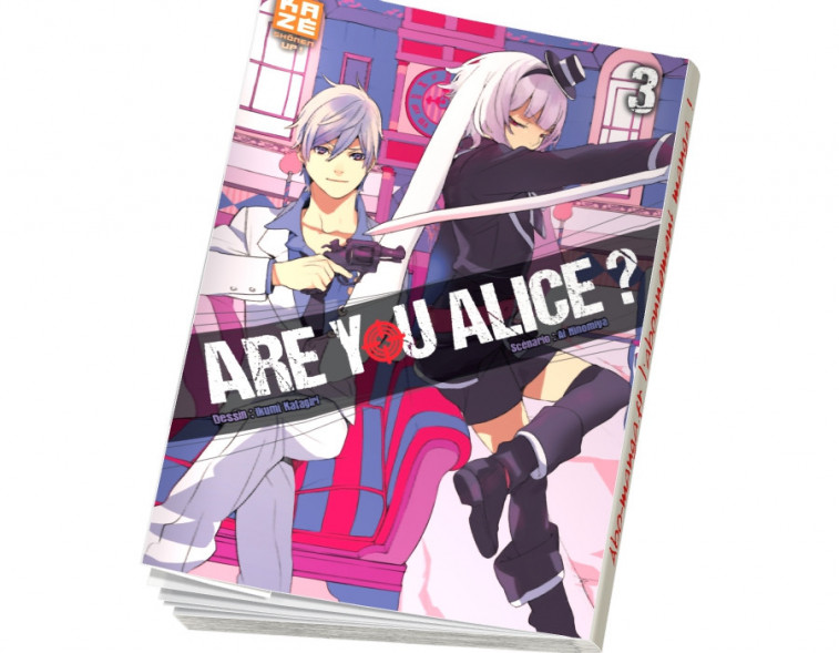 Abonnement Are You Alice tome 3