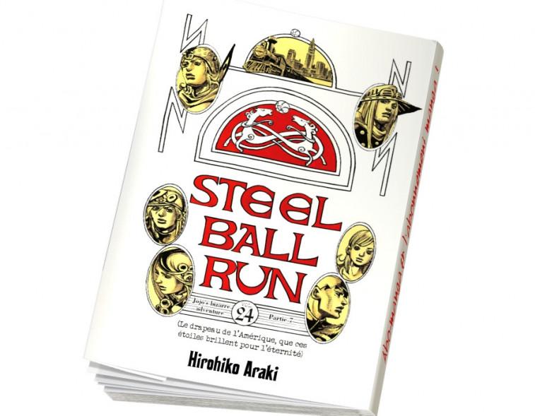 Abonnement Jojo's - Steel Ball Run tome 24